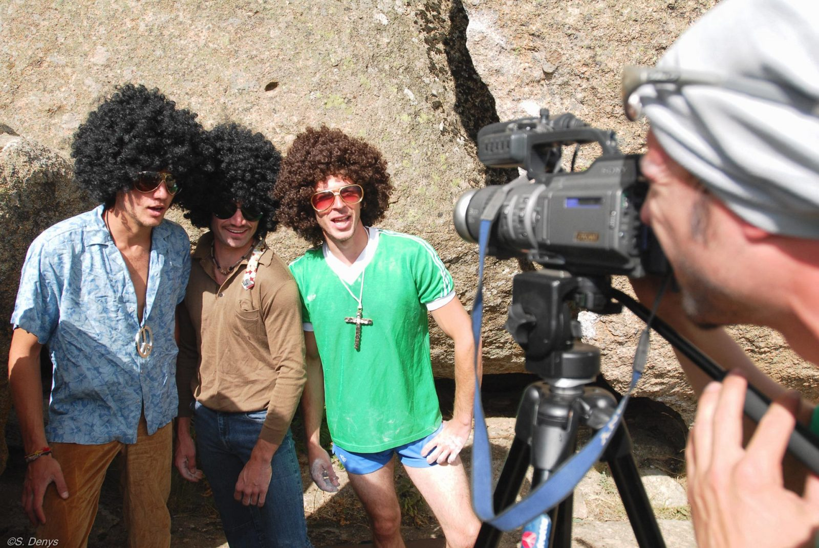 Navalameca 70's - Making-of the movie - photo ©Stephan Denys