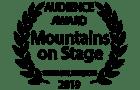 Audience Award - Prix du Public - Montagne en Scene - Summer Edition 2019