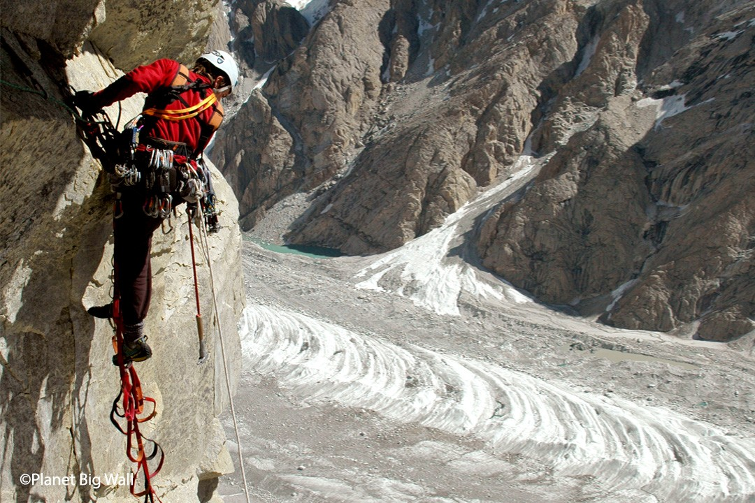 Azazel Big Wall Climbing in Pakistan ©Planet BigWall