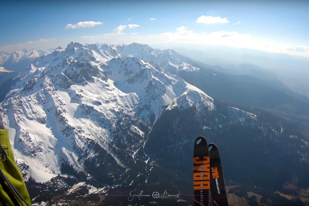 COMBO - Ski/Parapente en Belledonne ©Guillaume Broust