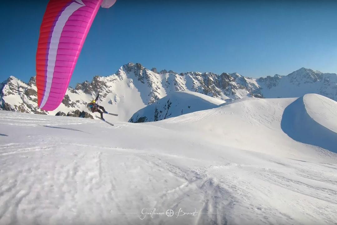 COMBO - Ski/Paragliding in Belledonne ©Guillaume Broust