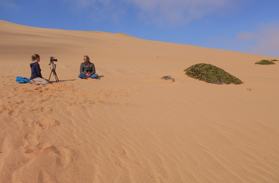 Frequent Flyers - Paragliding in Namibia - Interview with Axel Gruber ©Guillaume Broust