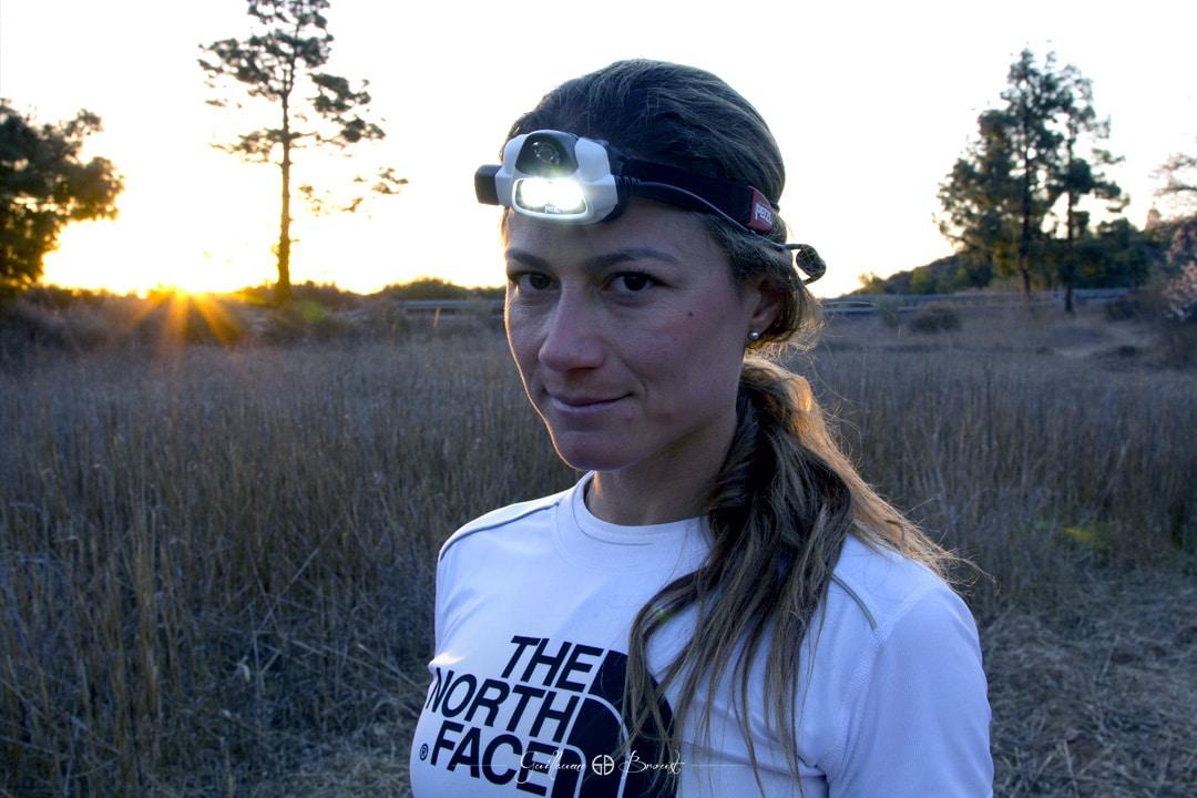 Fernanda Maciel - Running in Canaries Islands - ©Guillaume Broust