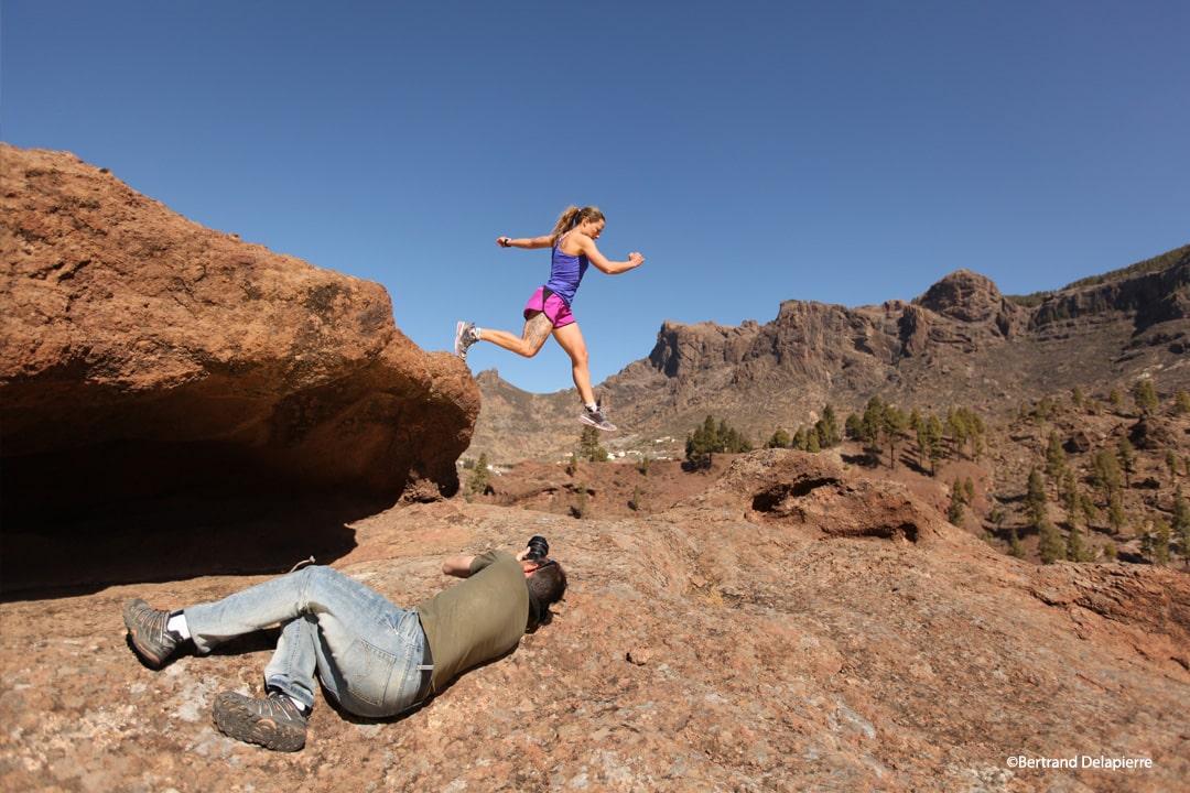 Behind the scenes - Running in Canaries Islands - ©Bertrand Delapierre