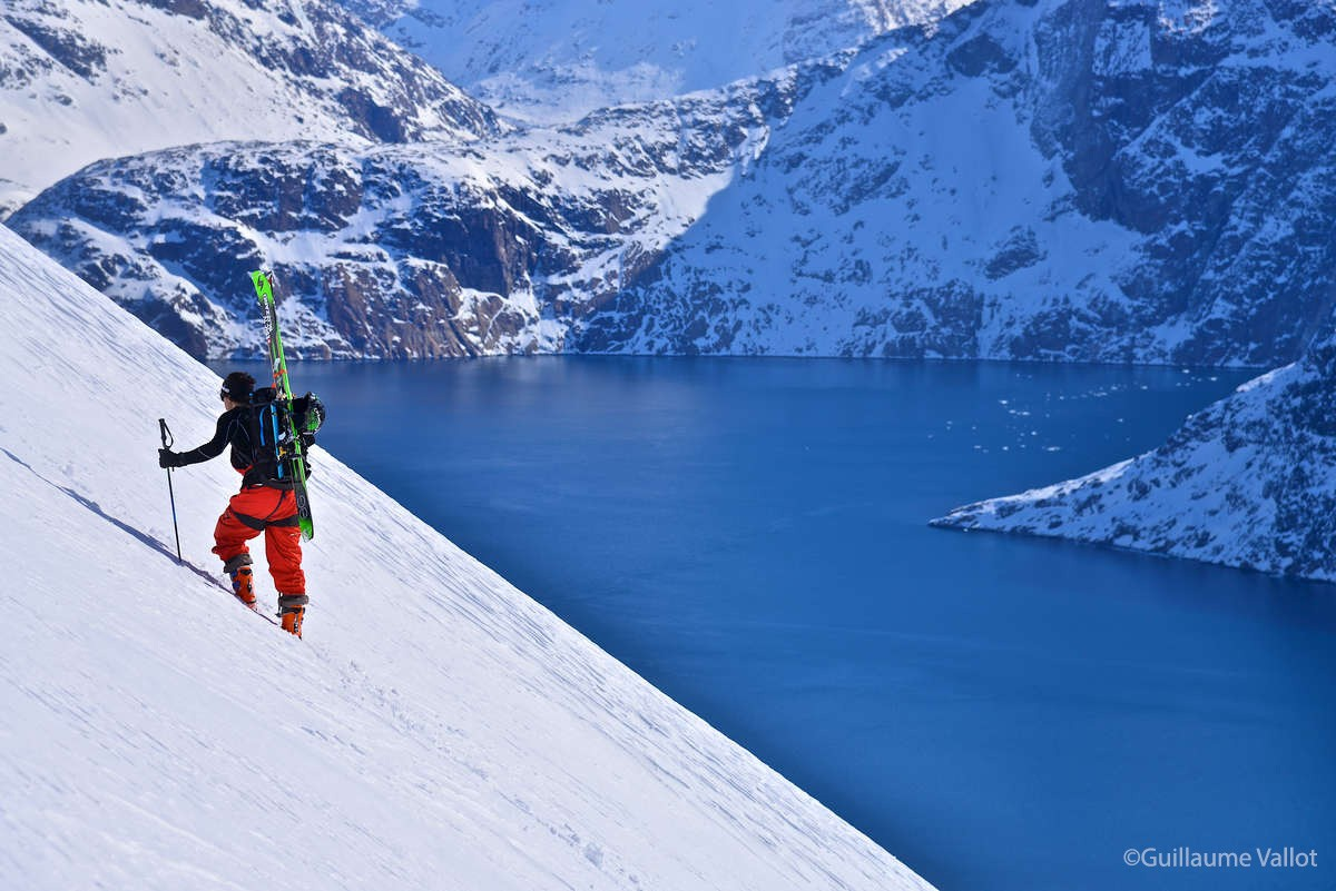Leo Slemet - Ski in Greenland - Maewan Adventure Base Expedition ©Guillaume Vallot