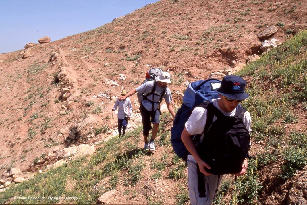 Parapente au Maroc - Montée à Agergour ©Antoine Boisselier