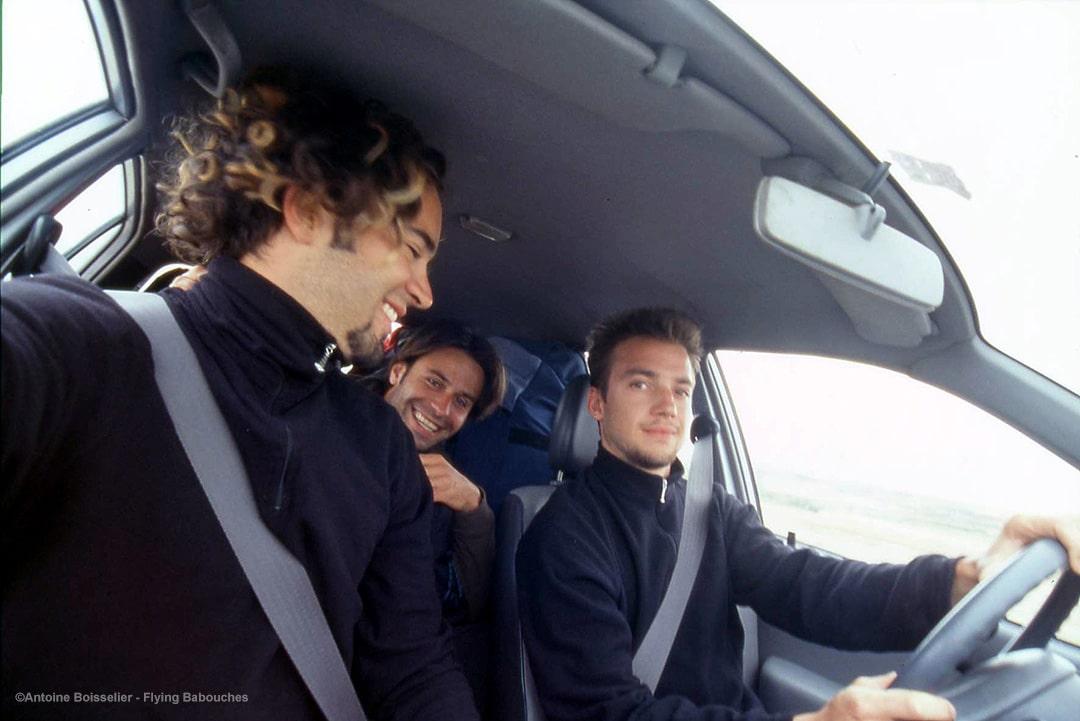 Team Flying Babouches - Antoine Boisselier, Guillaume Broust, Bruno Bourdat