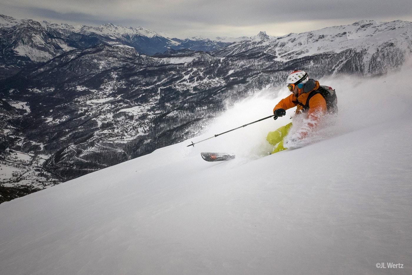 Guillaume Broust - Ski in Vallouise - @JL Wertz