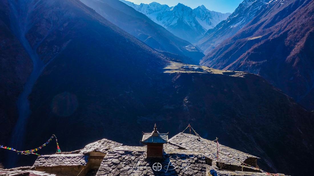 Mu Gompa monastery - Tsum valley - Nepal ©GuillaumeBroust - Les Chants de l'Eau