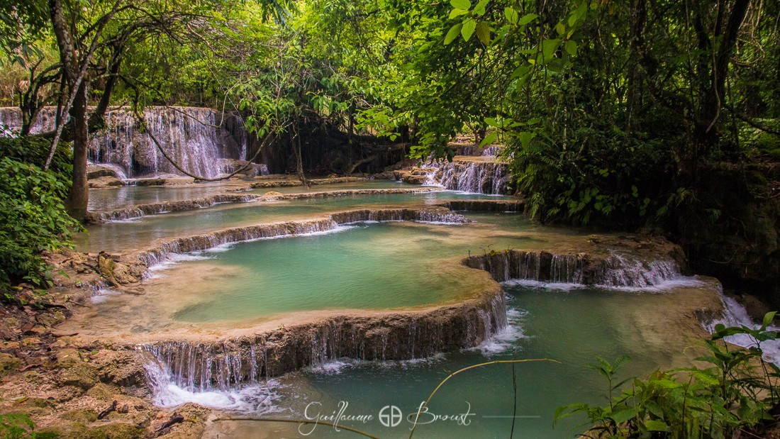 Waterfalls of Tan Kuang Si - Luang Prabang - Laos ©Guillaume Broust - Les Chants de l'Eau