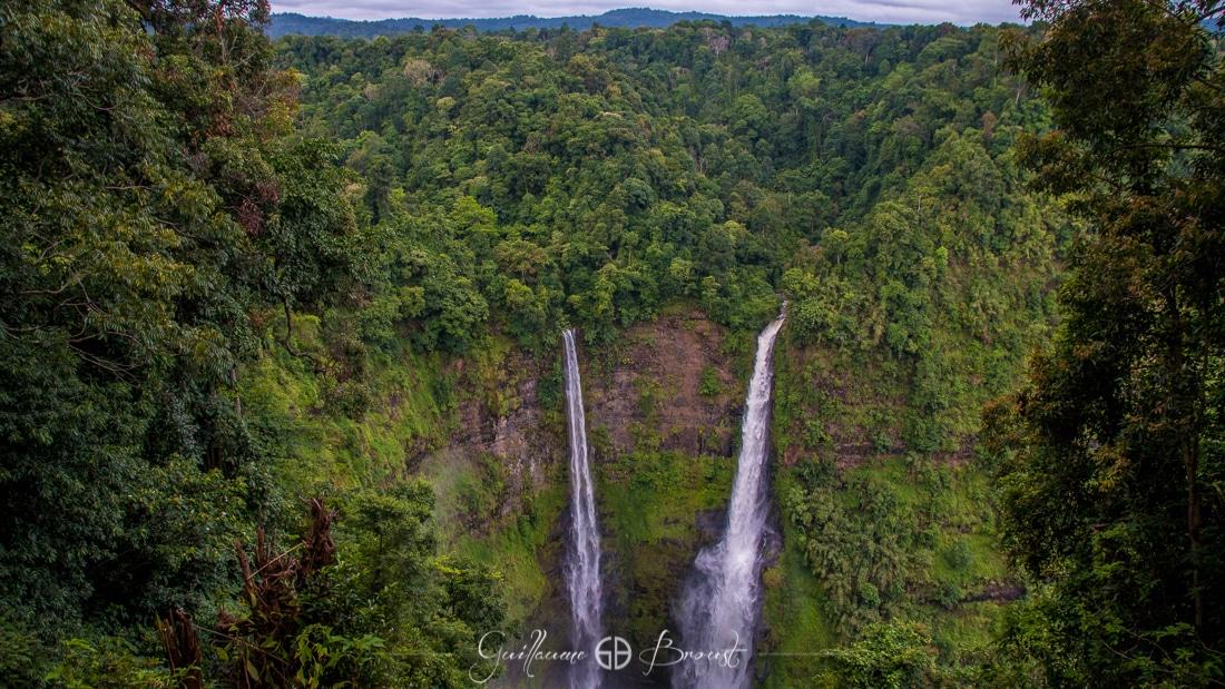Waterfalls in Boloven - Laos ©Guillaume Broust - Les Chants de l'Eau