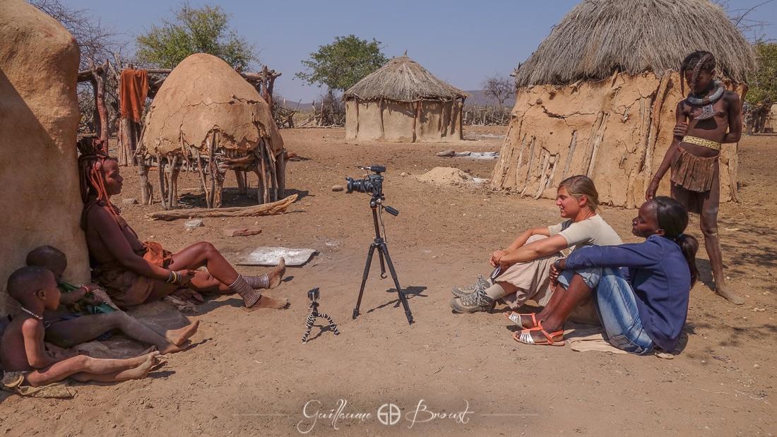 Himbas village interview - ©Guillaume Broust - Les Chants de l'Eau