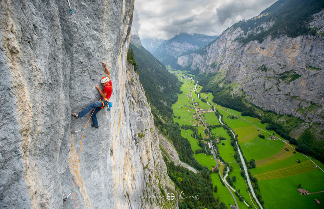 Swissway to Heaven - climbing in Switzerland with Cédric Lachat - ©Guillaume Broust