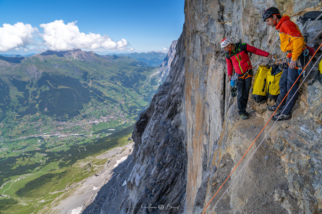 Swissway to Heaven - climbing the Eiger with Cédric Lachat & Tobias Suter - ©Guillaume Broust
