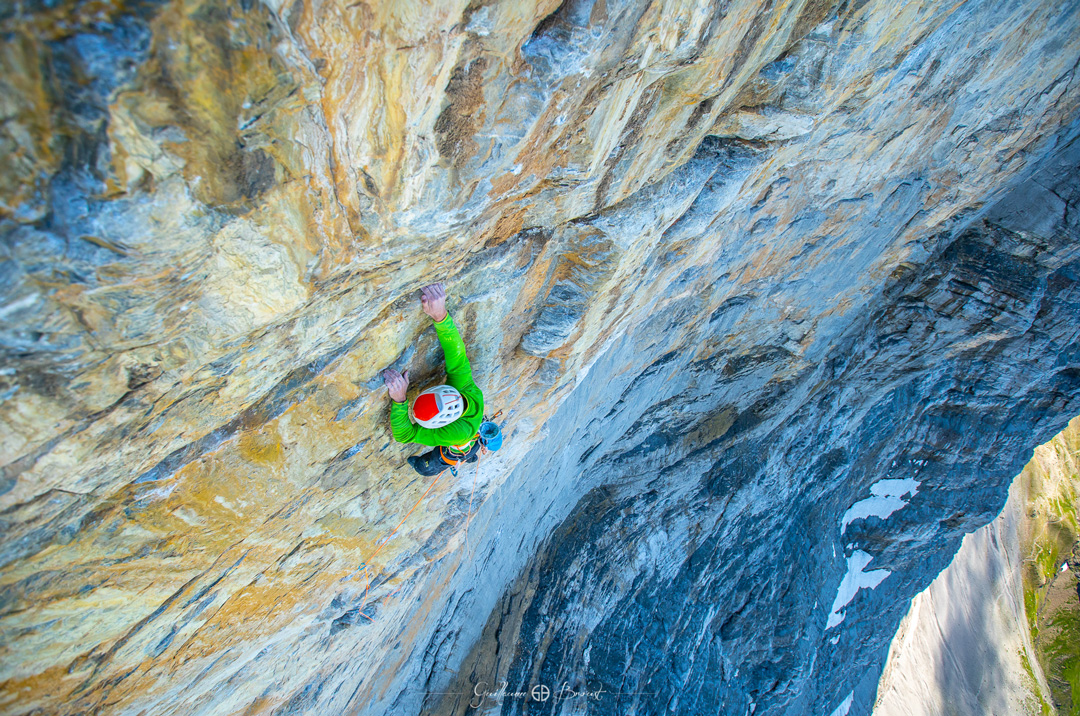 Swissway to Heaven – climbing the Eiger with Cédric Lachat & Tobias Suter ©Guillaume Broust