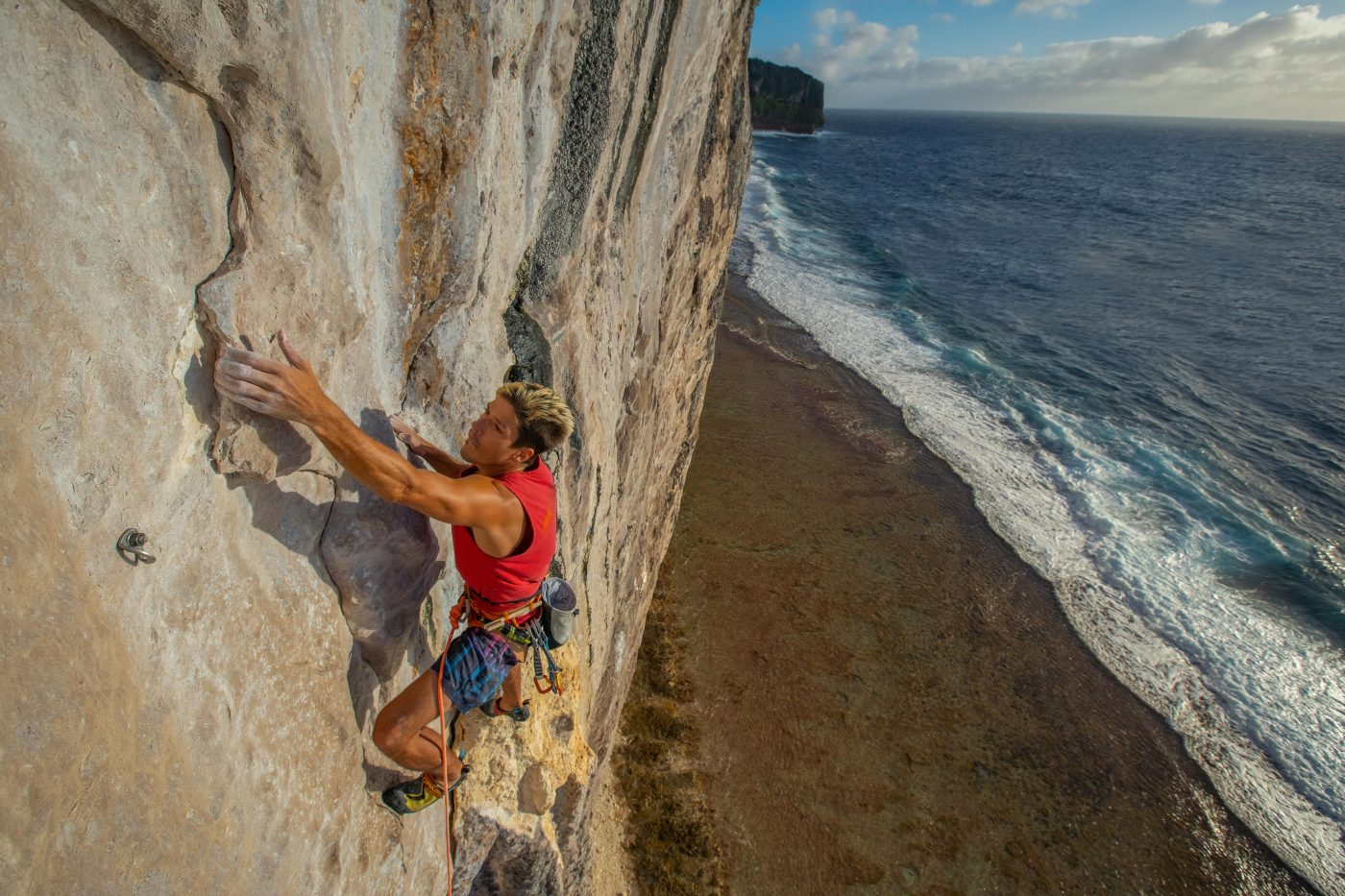 Makatea Vertical Adventure - Climbing in Polynesia ©Guillaume Broust