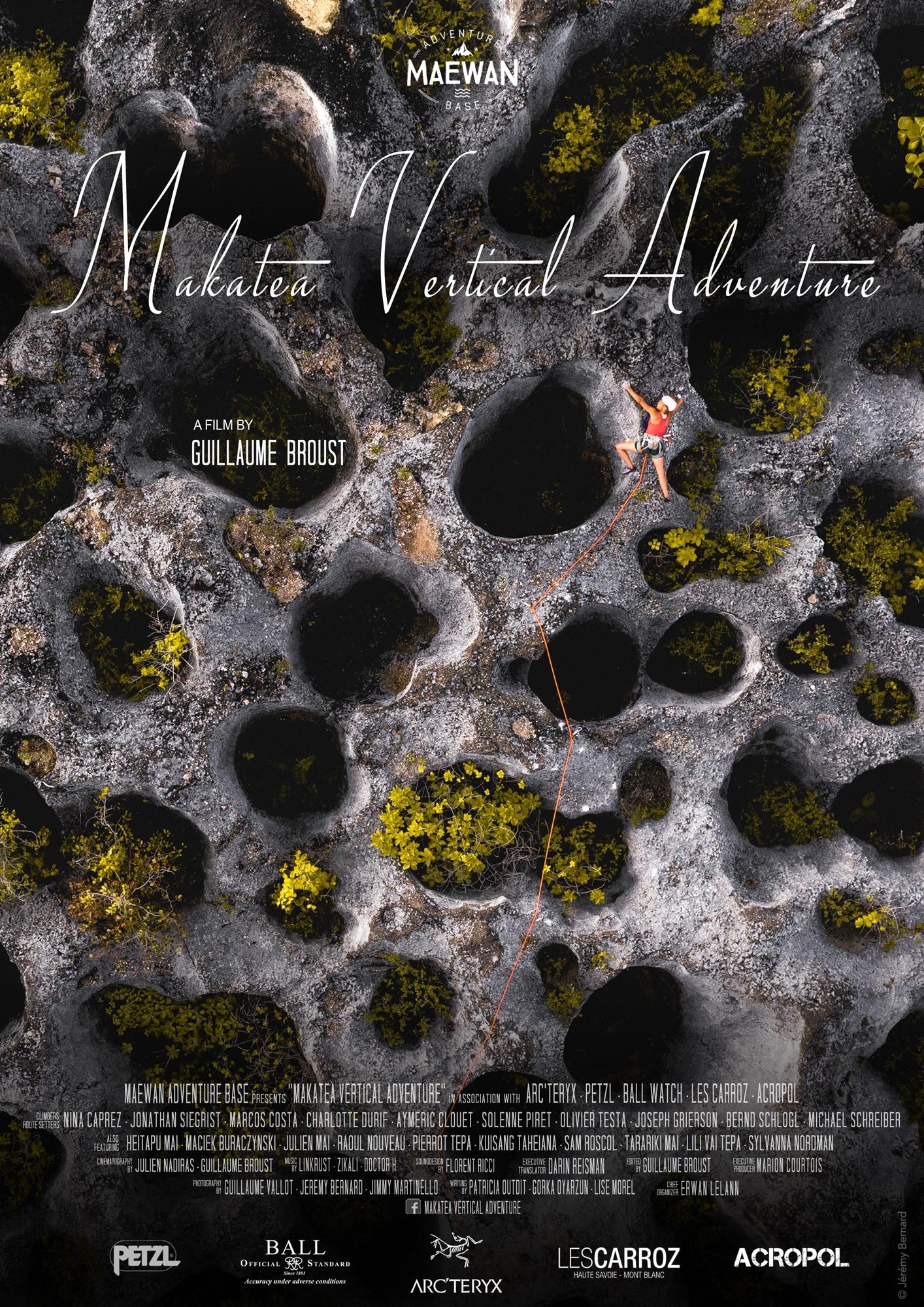 Makatea Vertical Adventure - Poster @Jérémy Bernard
