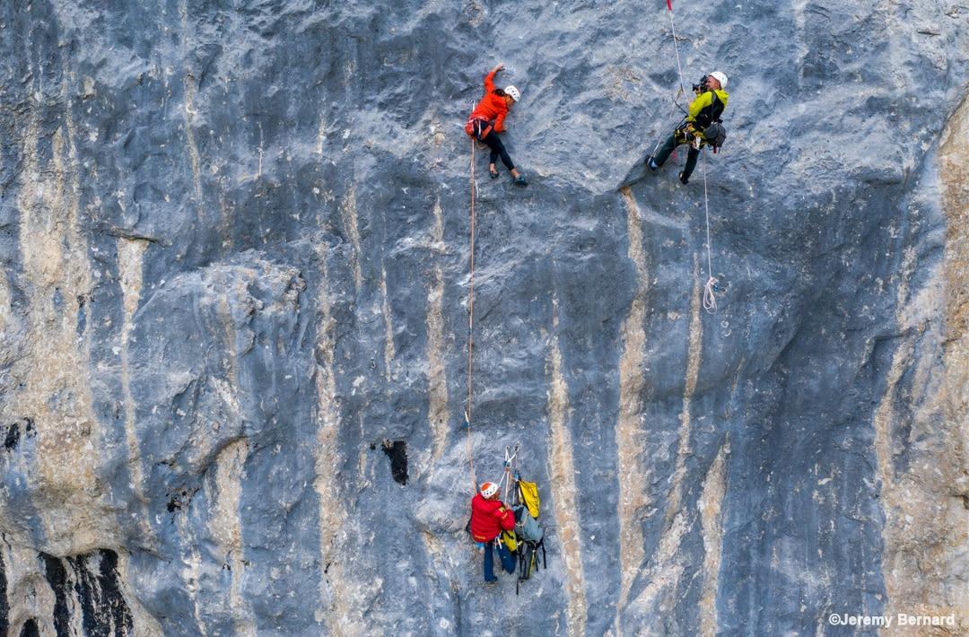 Swissway to Heaven - climbing with Cedrich Lachat & Nina Caprez ©Jeremy Bernard