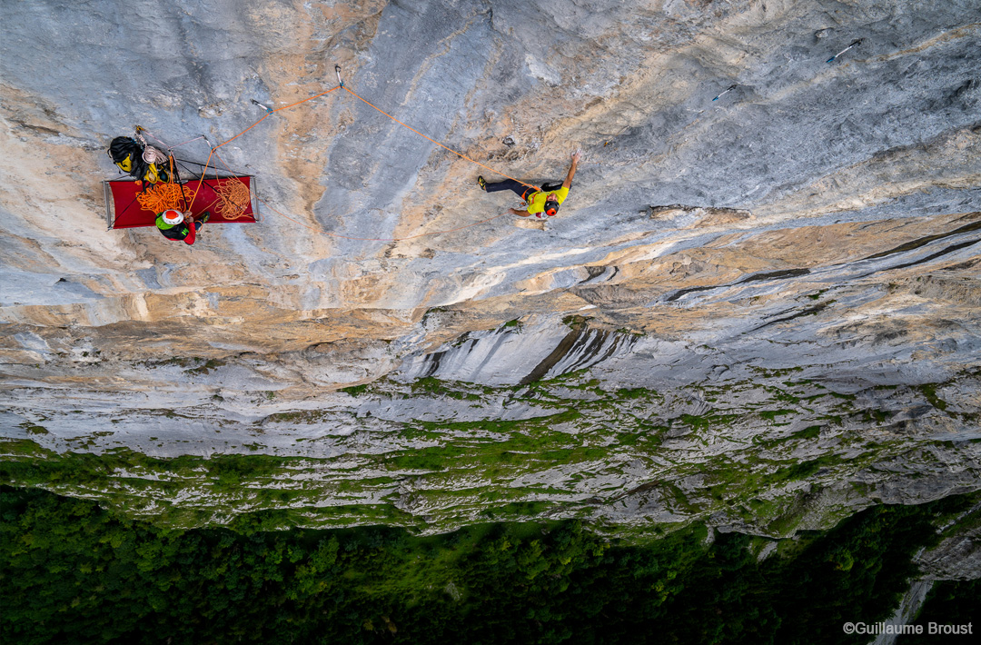 Swissway to Heaven - climbing with Cedric Lachat & Tobias Suter ©Guillaume Broust