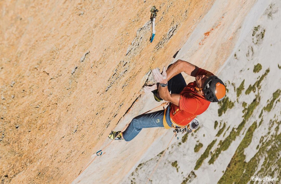 "Swissway to Heaven - Fabien Dugit climbs ""Zahir"", Wendenstöcke ©Marc Daviet"