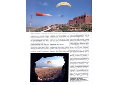 Magasine Aerial Parapente - Article Flying Babouches - Guillaume Broust