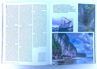 Makatea on the Cliffhanger Book - Guillaume Broust