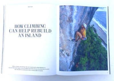 Cliffhanger Book Makatea - Photo © Guillaume Broust