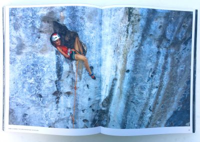 Cliffhanger Book Makatea with Solene Piret - Photo © Guillaume Broust