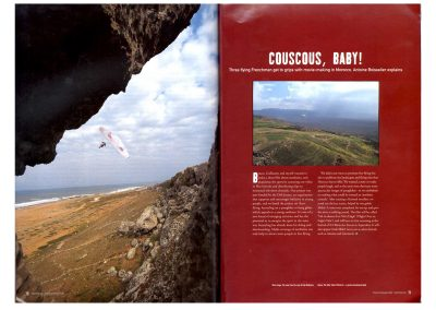 Cross-Country Magazine - Flying babouches - Photos Guillaume Broust