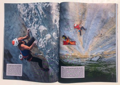 Grimper Magasine - Article Swissway to Heaven - Photo Guillaume Broust