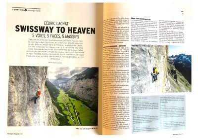 Montagnes Magasine - Article Swissway to Heaven - Photo Guillaume Broust