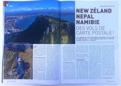 Article Frequent Flyers - Parapente Mag - Photo © Guillaume Broust