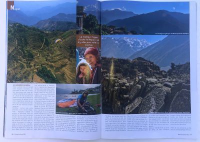 Article Frequent Flyers - Parapente Mag - Nepal - Photo © Guillaume Broust
