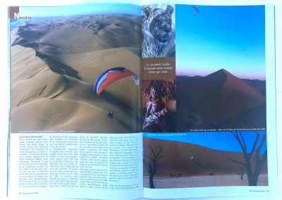 Article Frequent Flyers - Parapente Mag - Namibie - Photo © Guillaume Broust