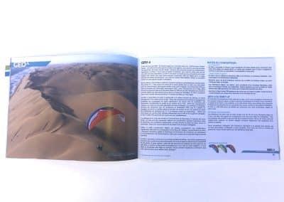 Catalogue Ozone Brochure parapente - Photo Guillaume Broust