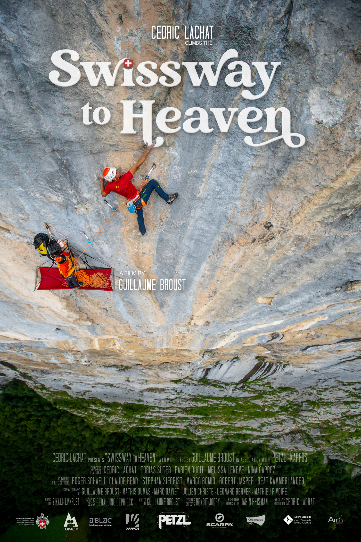 Poster du film Swissway to Heaven - photo © Guillaume Broust
