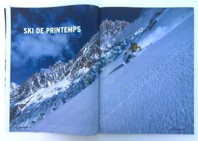 Photo Montagnes Magazine - Ski Guide MicheLa - photo © Guillaume Broust